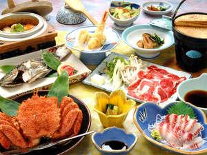 *お料理内容がグレードアップ!摩周鯛の活き造り&姿唐揚げ付き&毛ガニ半身&釜飯付♪