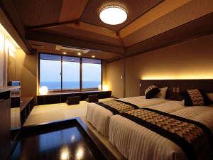 【藍の詩】絶景の5階客室 新装「藍の詩」和ベッドタイプ