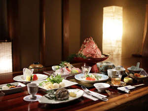 季節の海鮮会席料理 一例