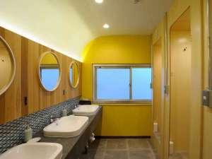 各室内には洗面、シャワーの設備がありませんので 共用のものをご利用ください。