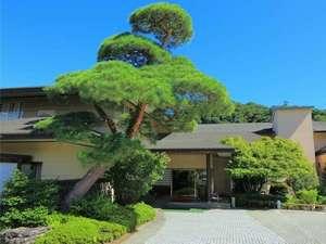 大正4年創業、長瀞観光の歴史とともに歩み100周年を迎えました。玄関の松も当時より残ります。