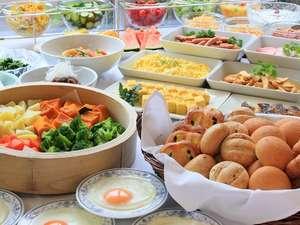 ★各プラン★約30種類の朝食和洋バイキングがセットに♪ 朝はしっかり食べて♪