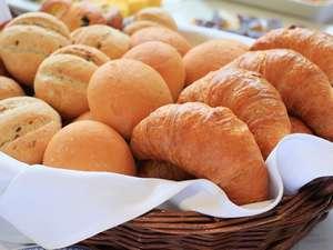 ♪レストラン内で焼きあがるパン♪ パンの香りが食欲をそそります♪