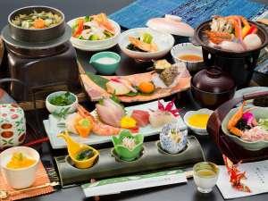 【料理例】佐渡島の海と山の恵みをたっぷり詰め込みました。