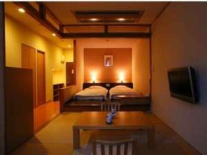 ◆客室◆モダンな造りの露天風呂付き客室(Bタイプ)