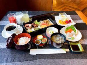 和食おかずセット例(ごはん、味噌汁、ドリンク、デザート等はセミブッフェ形式となります)