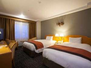 デラックスタイプは上質なベッドと設備で快適なご宿泊を