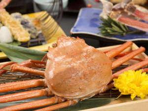 冬の富山といったら蟹♪まるごと堪能できる特別膳や、食べ放題をご用意!