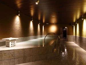 広々大浴場はサウナ付!(朝夕で男女入替制となります)