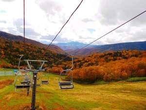 万座温泉スキー場 紅葉リフト運営致します(2017年10月1日(日)~10月22日(日))