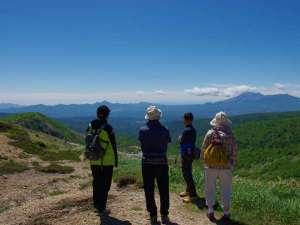 破風岳は約45分で登れるのでトレッキング初心者にオススメなコースとなっております。