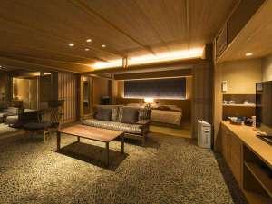 最上階6階、展望風呂付客室【燎Kagari】絶景の客室41.4㎡