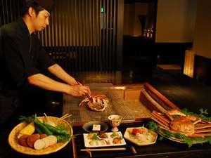 炙り房「翡翠桟敷」 肉や魚を炭火で炙る、炙り焼き会席もリピーターが多いです。