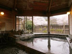 お風呂_春は桜を観ながら…