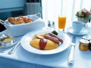 【朝食】優雅な朝食「ルームサービス」