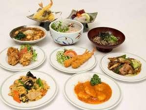 2食付夕食プランの選べるおかず10品です。こちらから3品お選びください