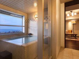 大正ロマン 客室展望風呂