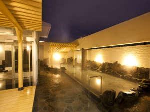 当館自慢の露天風呂