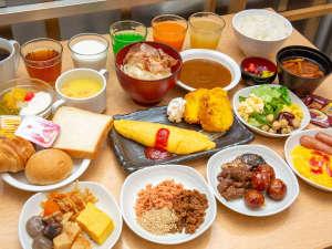 朝食バイキング一例(ご利用時間/6:30~9:30)