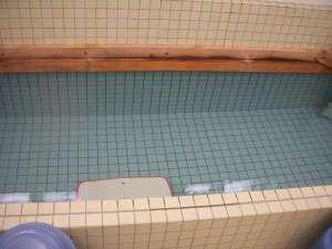 家族風呂。24時間使用できます。
