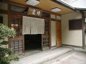晴嵐亭 玄関