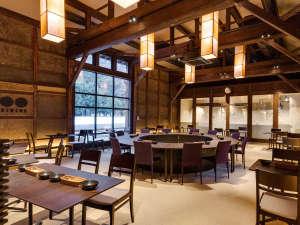 創業400年。老舗酒造場の発酵蔵をフレンチレストランに。
