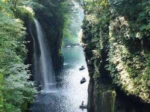 【観光】高千穂峡まで車で2分
