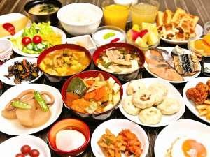 ■和洋50種類以上からお選びいただける朝食バイキング