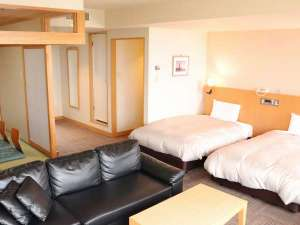 2室しか無い和洋室!広々ゆったりご利用頂けます。オーシャンフロントも魅力!