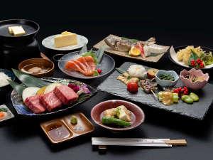 *【久住高原牛ステーキコース】久住高原牛ステーキのほか竹田産の食材がたっぷり贅沢コース