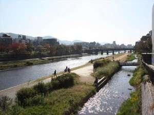 【鴨川(昼)】お散歩コースにどうぞ♪