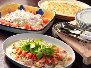 【朝食ブッフェ】地元食材や海鮮を豊富にご用意してお待ち致しております♪(料理イメージ)