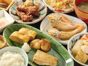 ◆朝食ブッフェ◆のど黒、金沢おでんなど金沢ならではのブッフェは口コミでも高評価!(和食一例)