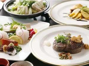 和洋折衷ハーフビュッフェ【コース料理3品】※メイン料理は肉又は魚料理よりチョイス!