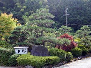 敷地内には、庭園も兼ね備えています。