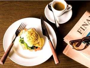 朝食イメージ(エッグベネディクト)