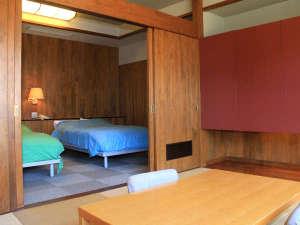 広々とした和洋室タイプのお部屋♪ゆっくり寛げる特別室