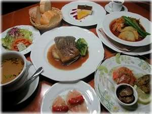 イタリアンディナー 一例