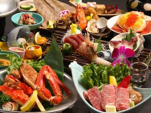 【50周年記念特別御膳】和牛、3大蟹、前浜産魚介と贅沢づくし♪