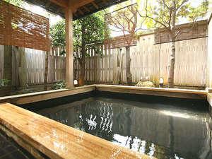 露天風呂は、ファミリーにも大人気です。
