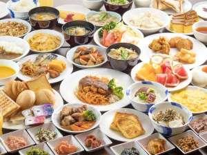 長崎名物から定番メニューまで、フォルツァらしさ溢れる元気朝食を準備いたしました!