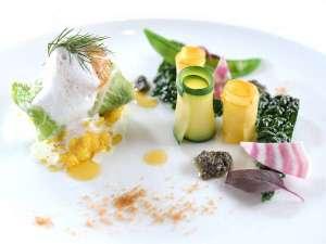 イタリアンコースのお料理一例