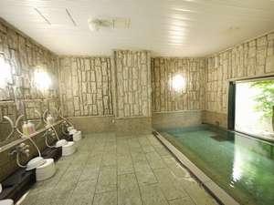 ★1階ラジウム人工温泉大浴場(男女別)★深夜2時まで朝は5時からご利用頂けます。