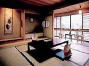 お部屋は全室和室です。1室ごとに造りが違っております(一例)
