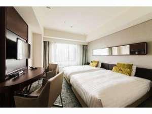 【客室】プレミアムツイン ・部屋広さ…21㎡・宿泊人数…1~2名・ベッド幅…120cm