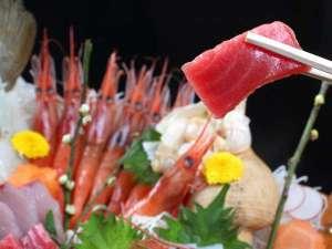 『鮮度抜群』の魚介の刺身