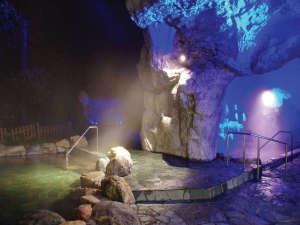 青の洞窟露天風呂