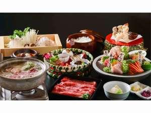 神内和牛あかの肩ロースを特製の胡麻味噌鍋でお召し上がり下さい