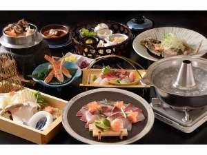 大分県産の鰤しゃぶなど海の幸をふんだんに盛り込んだ会席料理をご堪能下さい。