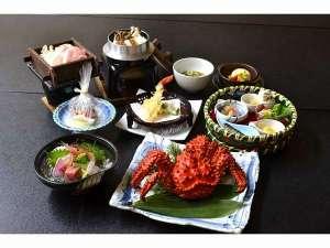 根室産の花咲蟹を堪能できる旬の和洋会席膳